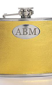 Mariée / Marié / Fille d'honneur / Groom Cadeaux Piece / Set Flasque Luxueux / Créatif Mariage / Célébration / Anniversaire / Business
