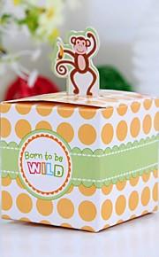 Baby Shower Part favoriserer og gaver-12Stykke/Sæt Yndlingsæsker Kort Papir Firkantet Ikke-personaliseret