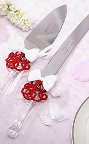 Serving Sets Wedding Cake Knife Personalized Asian Theme Cake Knife And Server Set