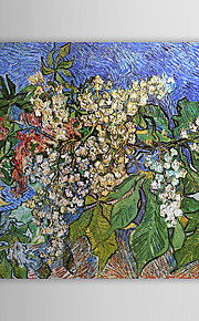 Famous Oil Painting Blossoming Chestnut Branches by Van Gogh