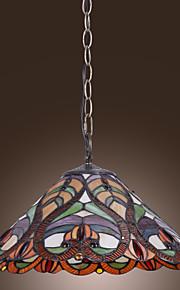 NORDENHAM - Lüster Tiffany mit 2 Glühbirnen