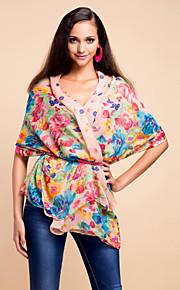 kleurrijke voile met patroon dagelijkse dragen sjaal / sjaal (meer kleuren)