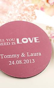 Dessous de mariage personnalisées - All You Need Is Love (jeu de 4)