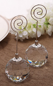 Place Cards and Holders Nice Crystal Ball Place Card Holder (Card Not Included)