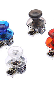 Replacement 3D Rocker Joystick Cap Shell Mushroom Caps voor Xbox360 Wireless Controller (Grijs Chip)