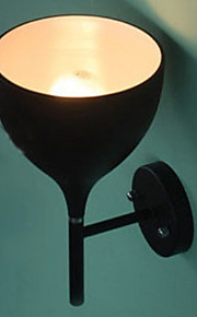 60W Retro Vegglampe med Metal Goblet Shade Up Rotaliana Drink