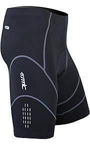 MC05034-Santic Miesten Coolmax hengittävä materiaali Pyöräily puoli housut (musta)