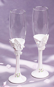 """Flying with You"" Toasting Flutes"