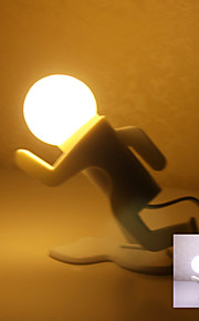 Running Man Shaped Plug Light LED Night Light