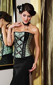 charmantes polyester bretelles corsets de fermeture à glissière latérale shapewear lingerie sexy shaper