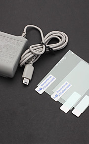 Protector de pantalla LCD + cargador de alimentación para NDSL NDS Lite DSLite