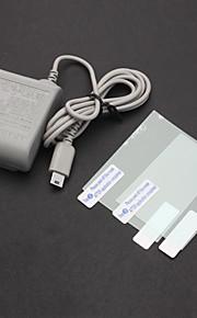 Screen Protector LCD Film + Voeding lader voor NDSL NDS Lite DSLite