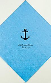 Boda personalizada servilletas Anchor (más colores) Juego de 100