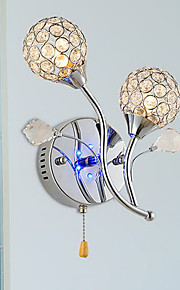 moderne, la lumière menée de mur en cristal conception 220-240v
