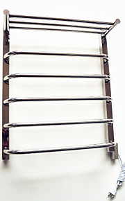 Contemporary Stainless Steel Mirror Polished Towel Warmer 60w