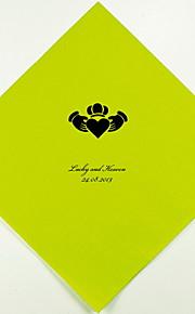Boda personalizada servilletas Claddagh (más colores) Juego de 100