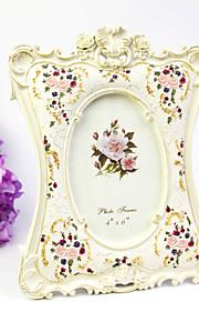Thème floral Résine Cadre photo