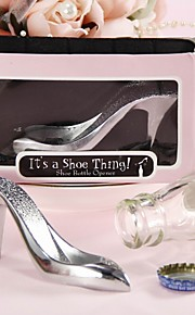 """It's a Shoe Thing"" Bottle Opener Favor"