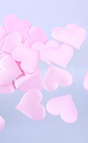 לב עיצוב חתונה עלה כותרת שנקבע בצורה של 100 חתיכות (יותר צבעים)