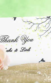 Scene of Spring Thank You Card (Set of 12)