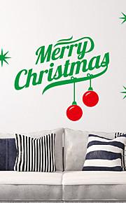 Holiday Words Hyvää joulua Wall Tarrat