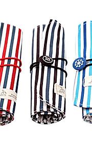 Stripe Pencil Case for Children (tilfældig farve)