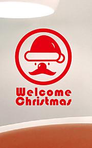 Holiday Abstract Santa Claus Wall Tarrat