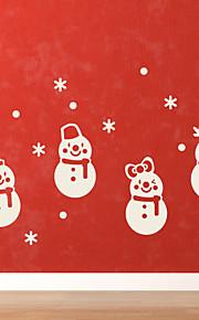 Holiday joulu Lumiukko Wall Tarrat