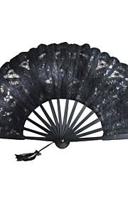 Black Lace Hand Fan