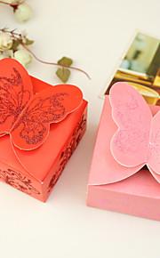 12 Pièce / Set Titulaire de Faveur-Rectangulaire Papier durci Boîtes à cadeaux Non personnalisé