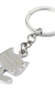 Personalized Gift 4pcs Engraver Keycahin