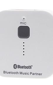 trasmettitore ricevitore partner di musica bluetooth con il microfono