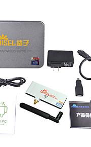 Chiseltek 5G wifi Android 4.2 TV Player Rockchip3188 1800MHz Quad Core (Wi-Fi Bluetooth 2GB RAM 8GB ROM HDMI)