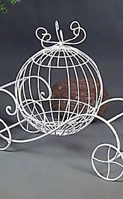 בעל בן / כרטיס פרח עגלת דלעת מתנת בעל / מזומן ברזל לבן עיצוב חתונה