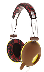 DJ-3685 Stereo On-Ear Headphone med blomstermønster