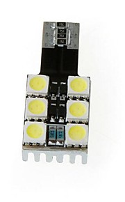 T10 W5W 194 168 6 5050 SMD Hvid Canbus LED Bil Side Wedge Lampe pære