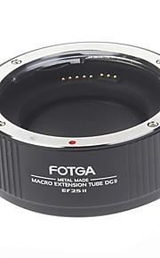 FOTGA alta precisione Macro Extension Tube DGII Ef 25 II per Canon Cameras (nero)