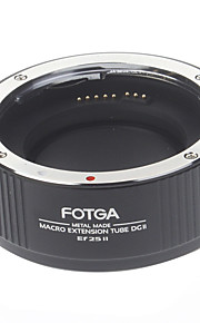 Tube הארכת מאקרו FOTGA דיוק גבוה DGII Ef 25 השני עבור Canon מצלמות (שחור)