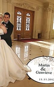 bröllop inredning personlig molnmönster dansgolv dekal (fler färger)
