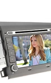 8inch 2 DIN In-Dash Car DVD-speler voor de Honda Civic (2012) met GPS, BT, iPod, RDS, Touchscreen, TV