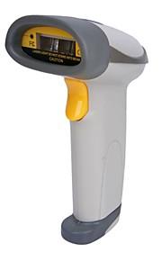 USB Wired Desktop / Handheld Laser Barcode Scanner met standaard - Gray
