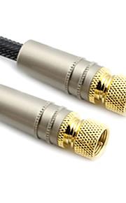 C-Cable F-Type cavo coassiale M / M per HD Digital-TV (2M)
