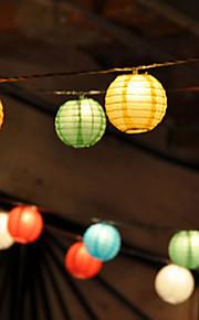 10pz solari cinesi partito Lanterna String Lights