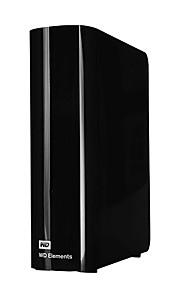 Western Digital Elements USB3.0 2T 3,5-tommer bærbar ekstern harddisk