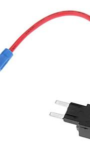 (5 pezzi Taglia: M) moto o in auto Add-A-Circuit linea fusibile Connettore per lampadina Auto Lamp Subwoofer