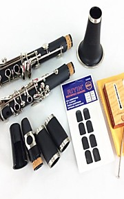 B the Clarinet Clarinet inStrument Double Section 2+Reed + Tooth Pad
