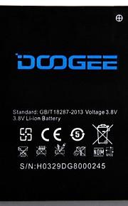 Udskiftning mobiltelefon Batteri til DOOGEE VALENCIA DG800 (3,8 V, 2000 mAh)