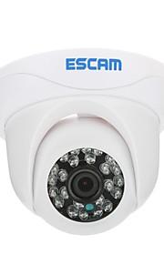 ESCAM Snail QD500 H.264 Dual Stream 3.6mm Dag / Nat Vandtæt dome IP-kamera og support Mobile Detection