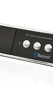 Bærbare genopladelige Bluetooth V4.0 mobiltelefon håndfri højttaler Car Kit