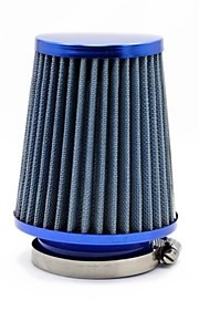 "TIROL ronde verminderde Mini Power Stack is Filter 3 ""Auto Cold Air Intake Blue Air Filters Diameter 76mm"